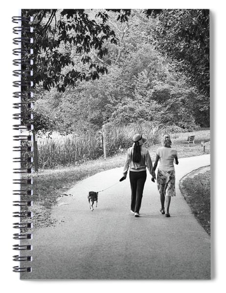 Threes A Company Spiral Notebook
