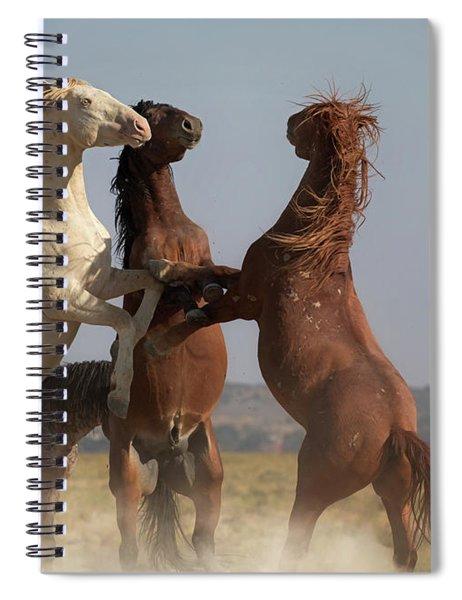 Threesome Spiral Notebook