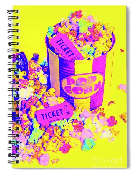 Thrills And Spills Spiral Notebook