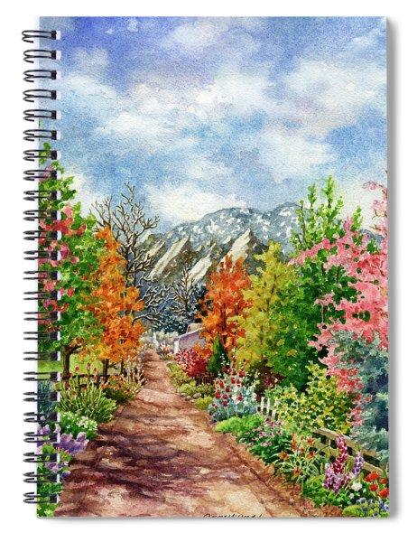 Through All Seasons Spiral Notebook