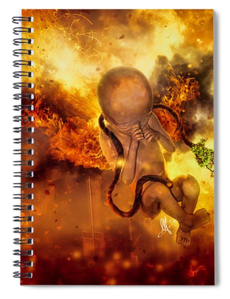 Through Ashes Rise II Spiral Notebook