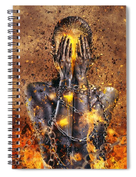 Through Ashes Rise Spiral Notebook