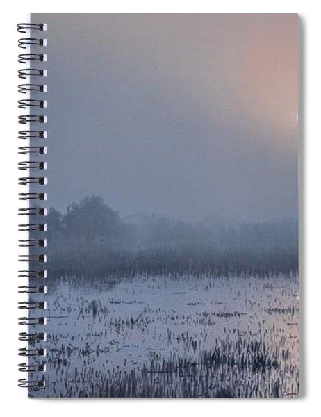 Through The Fog Spiral Notebook