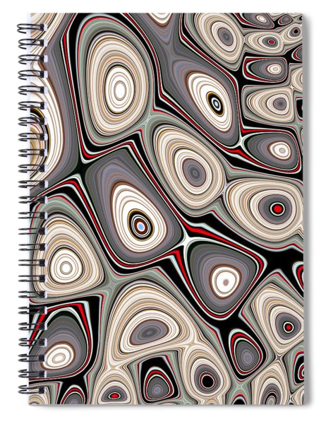Through The Looking-glass Spiral Notebook