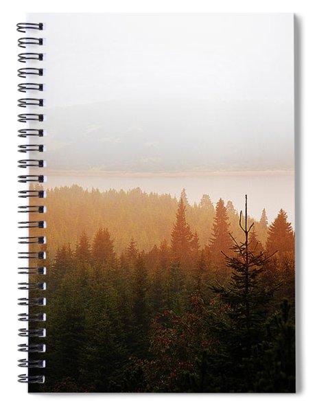 Through The Mist Spiral Notebook