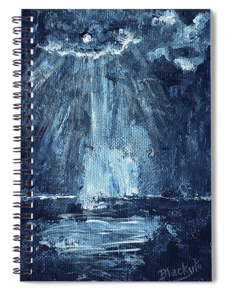 Through The Storm Spiral Notebook