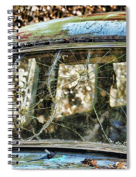 Through The Windshield Spiral Notebook