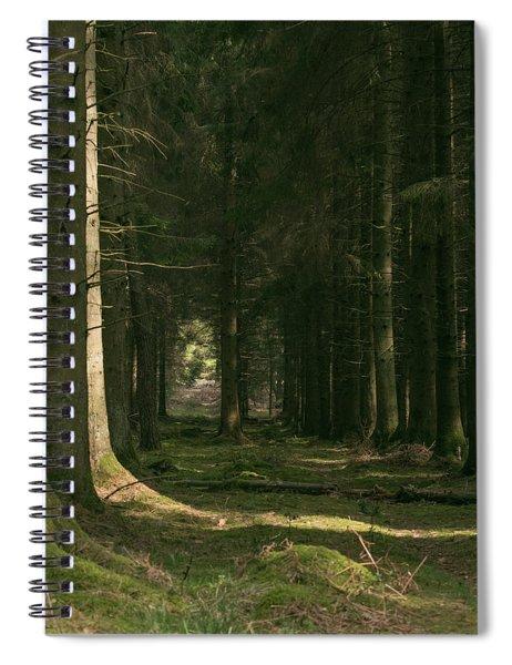 Through Spiral Notebook