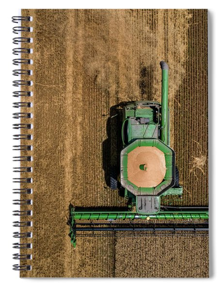 Through Wheat Spiral Notebook