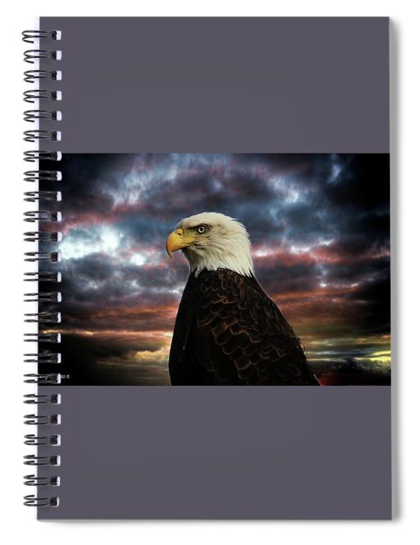 Thunder Eagle Spiral Notebook