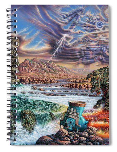 Thundering Gods Spiral Notebook