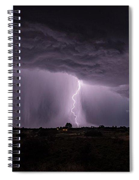 Thunderstorm #4 Spiral Notebook