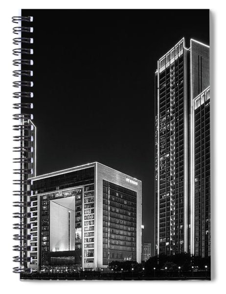 Tianjin Skyline Spiral Notebook