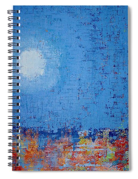 Tidepool Original Painting Sold Spiral Notebook