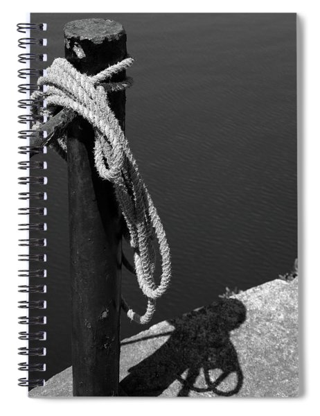 Tied, Rope Spiral Notebook