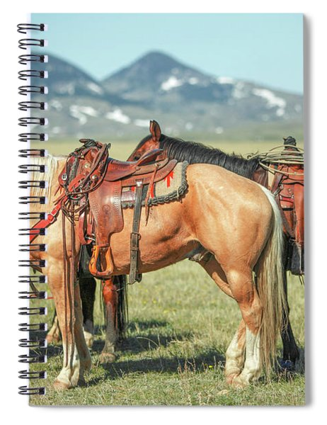 Tied Up Spiral Notebook