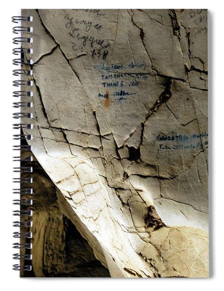 Tien Ong Cave - Halong Bay, Vietnam Spiral Notebook