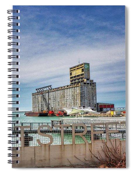 Tifft St Pier Spiral Notebook