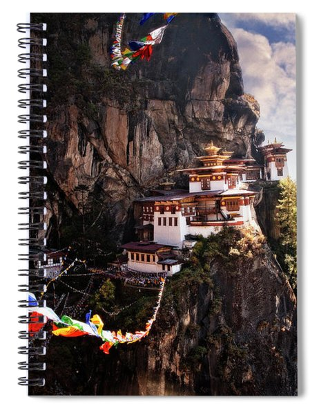 Tigers Nest 2 Spiral Notebook