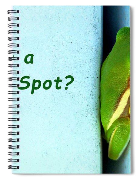 Tight Spot Spiral Notebook