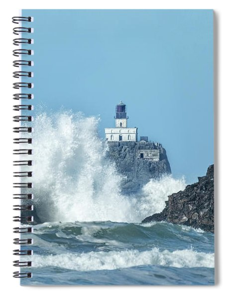 Tillamook Rock Light House, Oregon - Terrible Tilly Spiral Notebook
