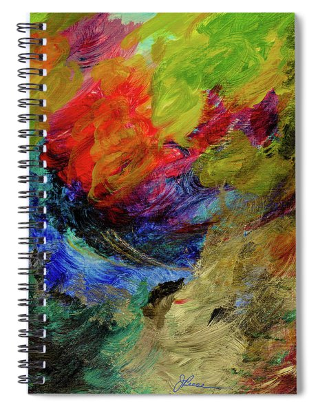 Time Changes Spiral Notebook