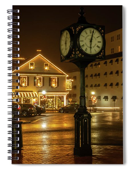 Time For Christmas Spiral Notebook