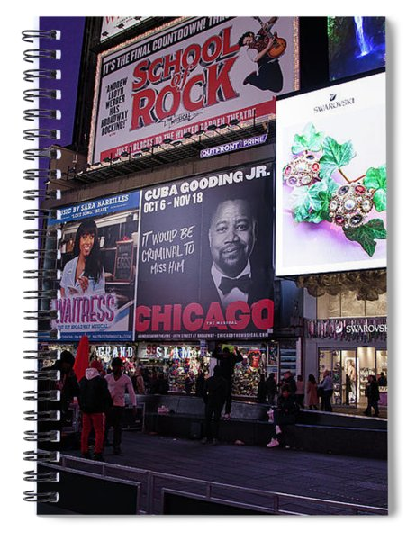 Time Square Spiral Notebook