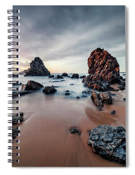 Time To Glow Spiral Notebook