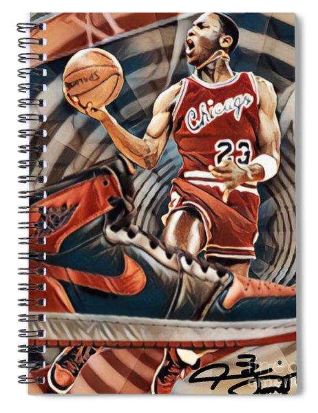 Time Warp Mj Spiral Notebook