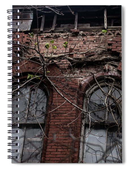 Time's Cathedral Spiral Notebook