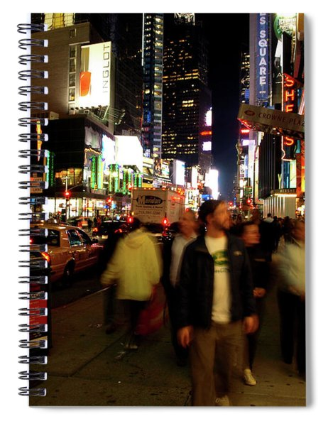 Time Square, Two Spiral Notebook