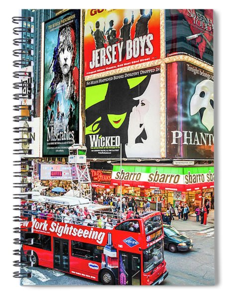Times Square II Special Edition Spiral Notebook