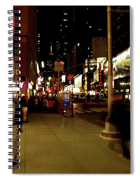 Time Square, One Spiral Notebook