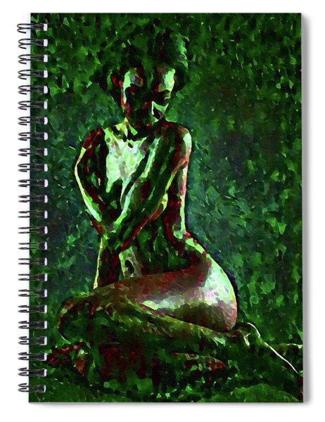 Timid Wilderness Spiral Notebook
