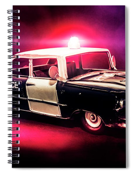 Tin Force Spiral Notebook