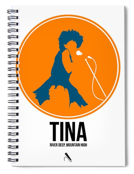 Tina Turner Spiral Notebook