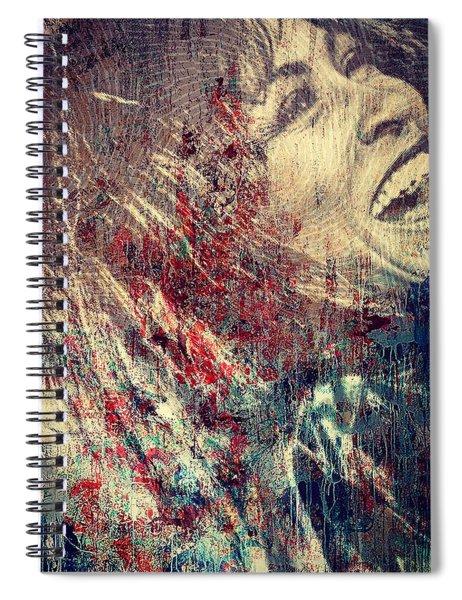 Tina Turner Spirit  Spiral Notebook