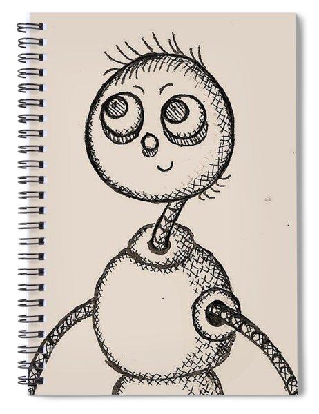 Tinboy Spiral Notebook