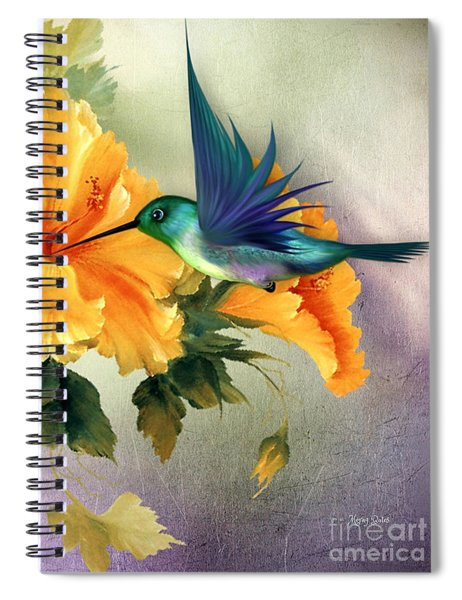 Tiny Wings Spiral Notebook