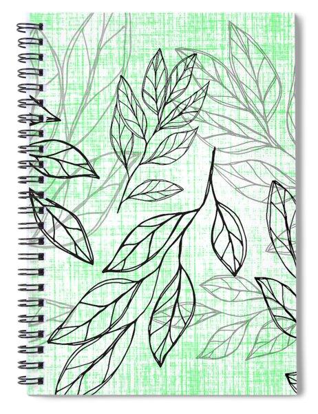 Titoki Leaf Spiral Notebook