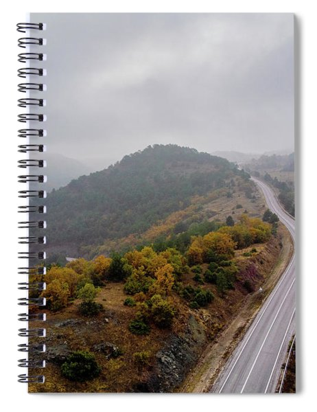 To The Mountains Spiral Notebook