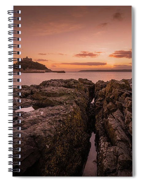 To The Sunset - Marazion Cornwall Spiral Notebook