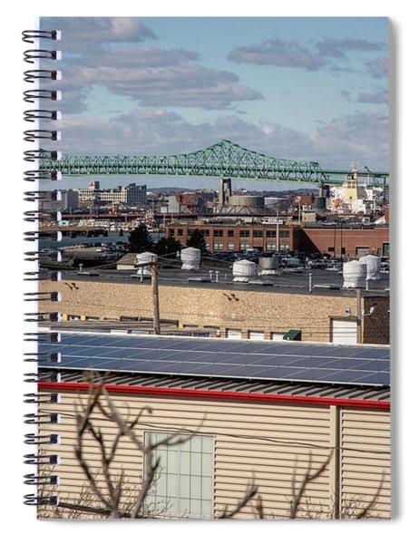 Tobin Bridge Spiral Notebook