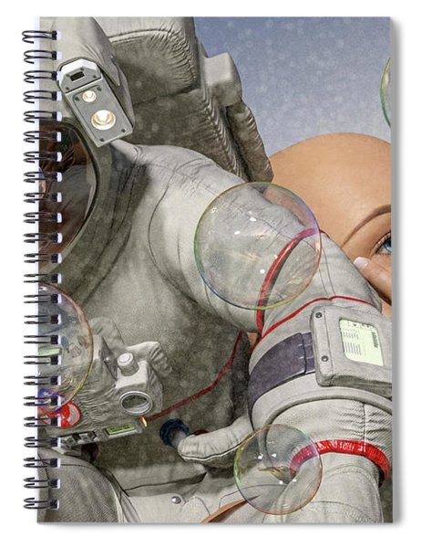 Today Inspires Tomorrow  Spiral Notebook