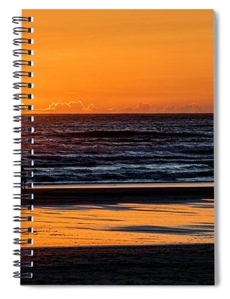 Tofino Sunset 1 Spiral Notebook