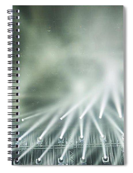 Tokyo Lights IIi Spiral Notebook
