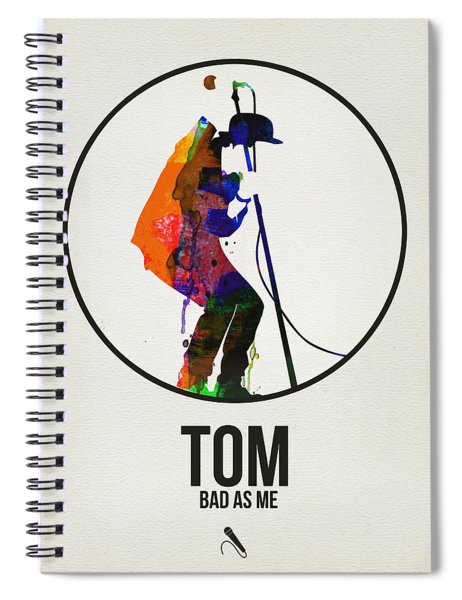 Tom Waits II Spiral Notebook