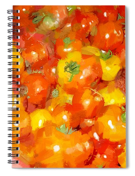 Tomatoes 3 Spiral Notebook