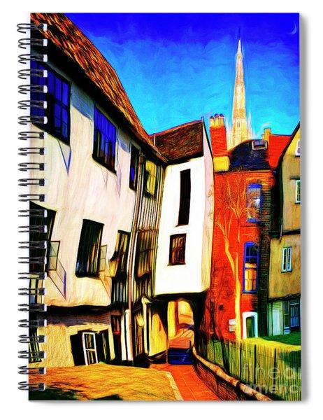 Tombeland Alley Spiral Notebook
